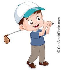 gracz, golf