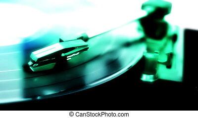gracz, rekord, abstrakcyjny, jeden