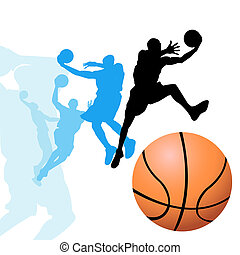 gracze, koszykówka