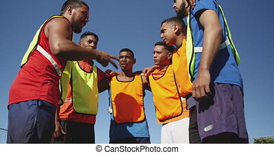 gracze, planowanie, piłka nożna, strategia, pole