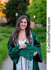 grad, cidade faculdade universitária, oregon