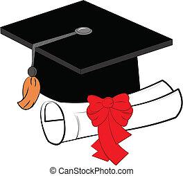 grad elements  - graduation elements over white vector