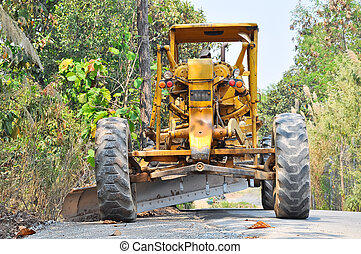 grader - Graders are commonly used in the construction and...
