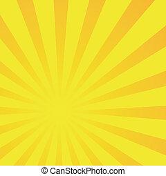 Gradient Abstract Sun Burst Pattern