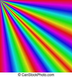 Gradient abstract sun light refraction background
