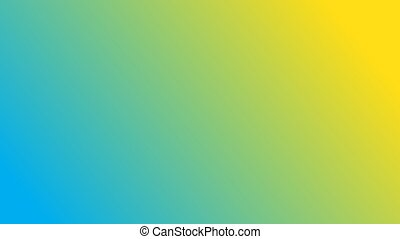 Gradient Background Colorful With Blue Yellow