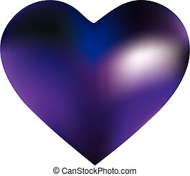 Gradient background in the form of a heart.