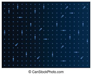 Gradient Blue Abstract Background with Dots