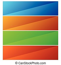 gradient, bouton, diagonal, /, effet, fond, bannière