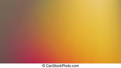 gradient, changer, lueur, couleur