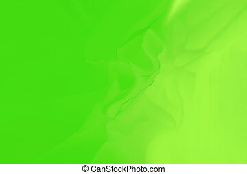 Gradient green abstract background with blurred lines