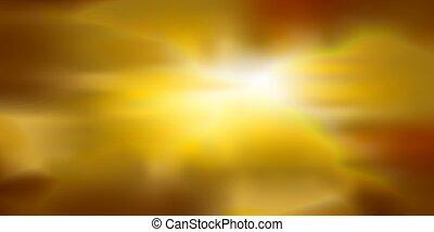 gradient, holographic, doré, vecteur, illustration