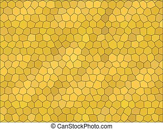 Gradient low poly hexagon style vector mosaic background