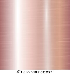 Gradient of rose gold - Metallic gradient with a pink gold...