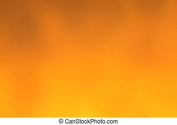 gradient, orange, résumé, fond, jaune