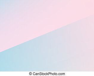 Gradient pastel mixed colours pink, blue trendy banner template background