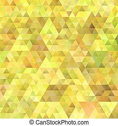 Gradient retro triangular pattern background