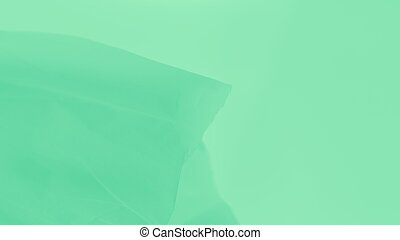 gradiente, agua, verde ligero, menthe, apariencia el plano de fondo, suave, panorama, tela, fluir