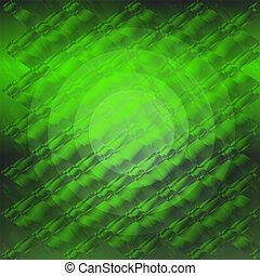 gradiente, círculo, xadrez, verde, textura
