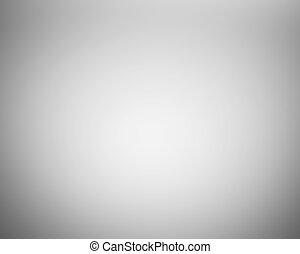 gradiente, cinzento, abstratos, fundo