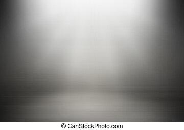 gradiente, experiência., abstratos, cinzento, obscurecido