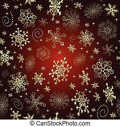 gradiente, padrão, natal, vermelho, seamless