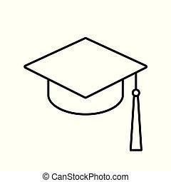 gradindelning, hatt, ikon