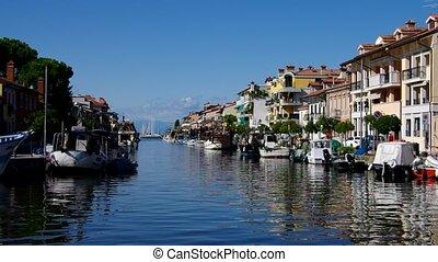 Grado in Italy, canal