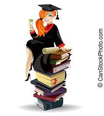 gradué, girl