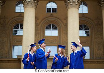 graduação, alegria