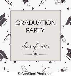 graduação, convite
