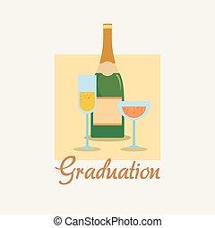 graduação, desenho, conceito
