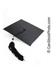 graduación, sombrero