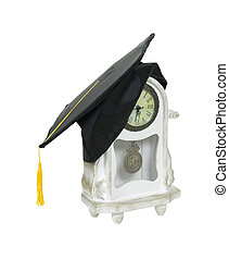 graduación, tiempo