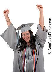 graduado, estudante