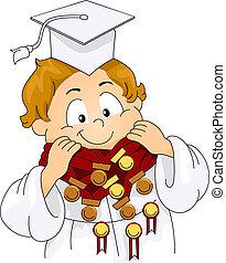 graduado, recompensas