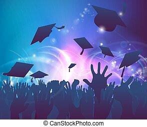 graduados, celebrar