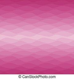 Gradual wavy pink background