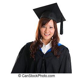 Graduate Asian student