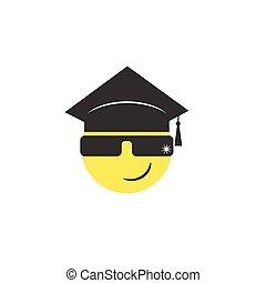 graduate emoticon