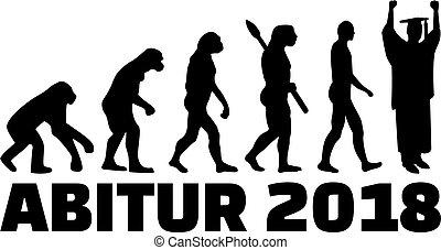 Graduate evolution high school 2018 german - Evolution of a...