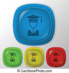 graduate hat avatar.
