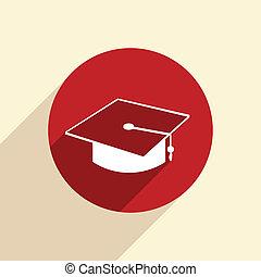 graduate hat.