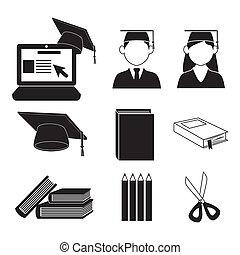 graduate icons