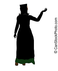 Graduate Illustration Silhouette