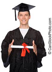 Graduate man