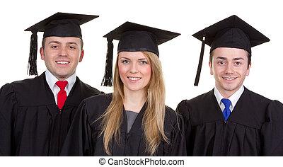 Graduate trio