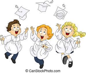 Graduates Jump