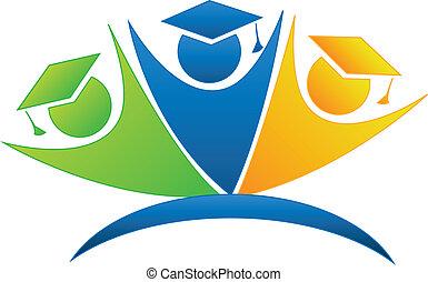Graduates successful goals logo