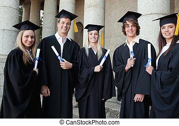 Graduates together
